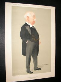 Vanity Fair Print 1912 Sir Charles Wright Macara